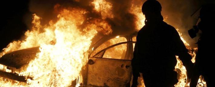 ferguson-burning-car