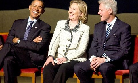Obama+Clintons